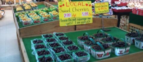 Fresh Niagara fruits