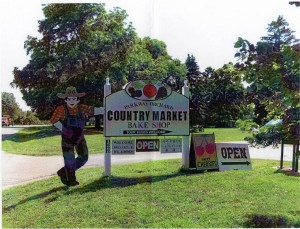 parkway orchards Signage